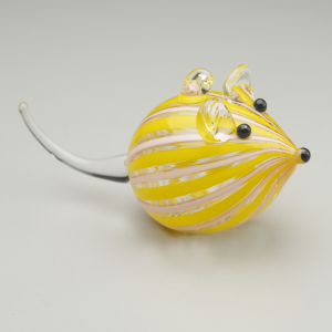 mouse-ornament-pink-and-yellow